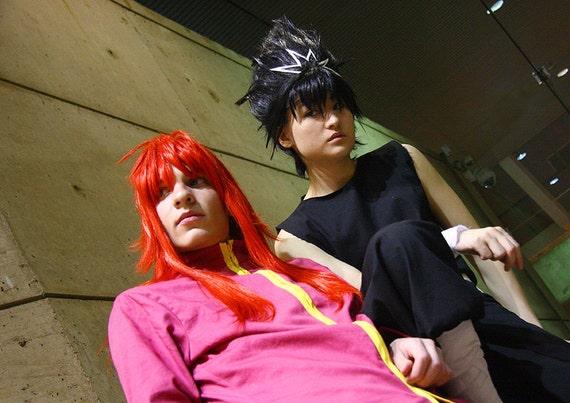 Hiei Yu Yu Hakusho YYH Anime Halloween Cosplay Costume Adult Swim