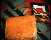 Vintage Native Leather Crossbody Bag
