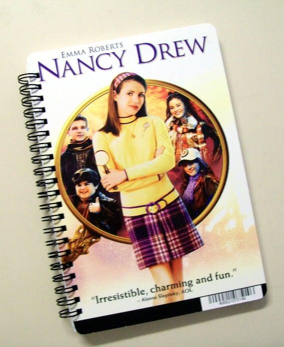 Nancy Drew DVD Backer Card Notebook Journal
