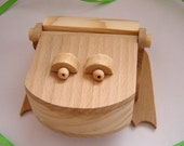 Wooden box Frog. Handmade eco friendly wooden box - Ready to Ship