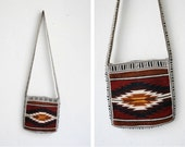 The Vintage woven bag small southwestern