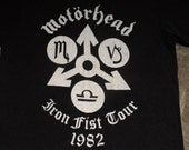 Motorhead Size S Iron Fist Tour 1982