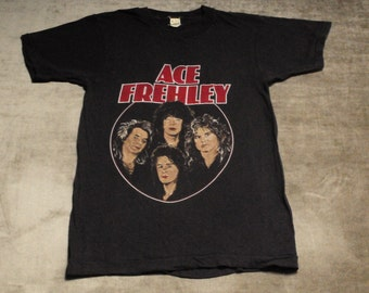 """Ace Frehley Size S """"Frehley's Comet"""" T-Shirt"""