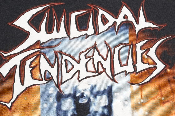 1990 SUICIDAL TENDENCIES Size XL You Cant Bring me Down Touring