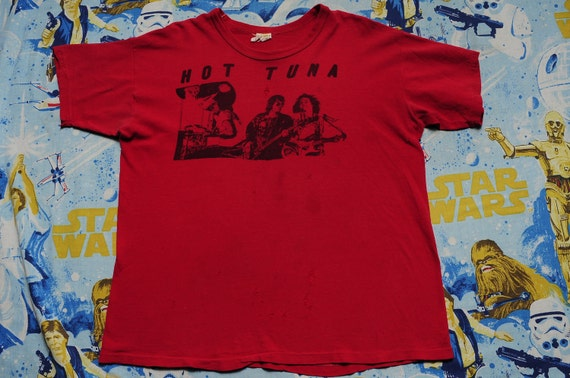 1976 HOT TUNA Size XL T-Shirt