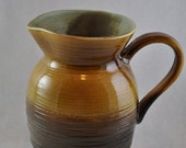 Green and Brown Pitcher