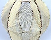 Plywood and String Lamp shade