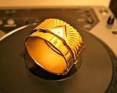 Gold Shell Watch