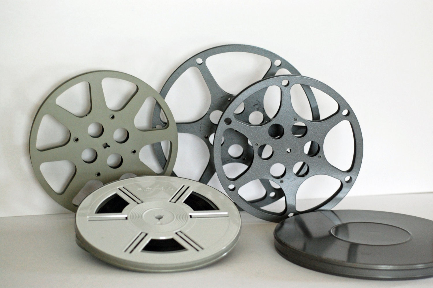 Vintage Film Reels and Canisters