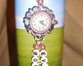 Personalised Bookmark with Watch