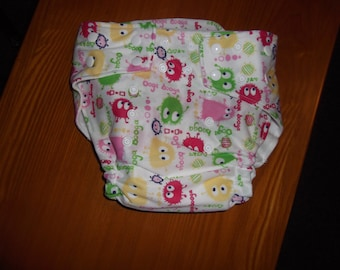 Ooga Booga Cloth Diaper by Love Pats