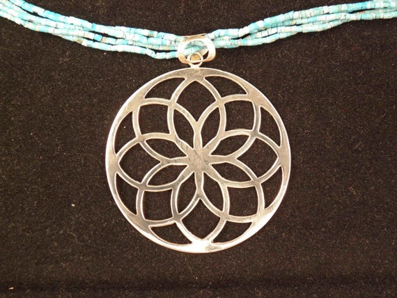 925 Sterling Silver and Turquoise Necklace