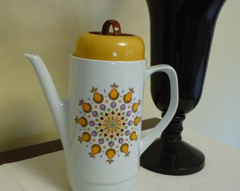 Vintage Ceramic Coffee/Teapot, Bareuther Waldsassen, Bavaria, Germany