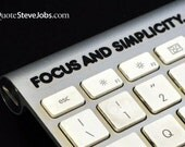 Steve Jobs quotes (INTUITION SET BLACK) iPad sticker iPad decal MacBook sticker MacBook decal  iMac sticker iMac decal iPhone sticker