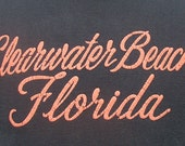 Vintage 80's Clearwater Beach Florida t shirt M