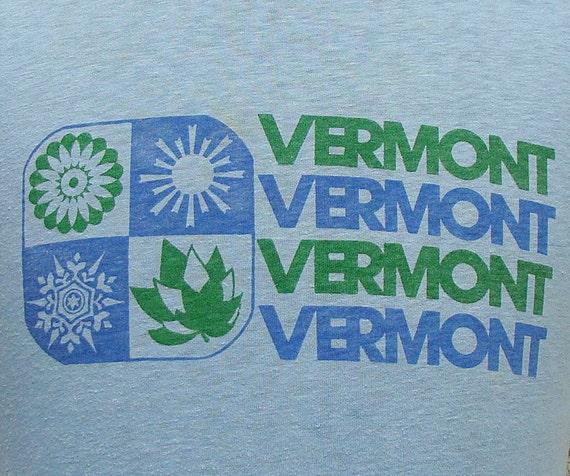 Vintage 80's Vermont t shirt M
