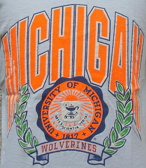 Vintage 90's University Of Michigan tank top L