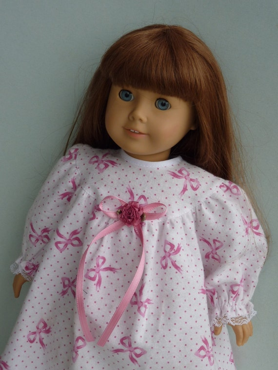 "American Girl Doll Clothes -  PJ Party: NICOLE. Handmade for 18"" American Girl Doll"