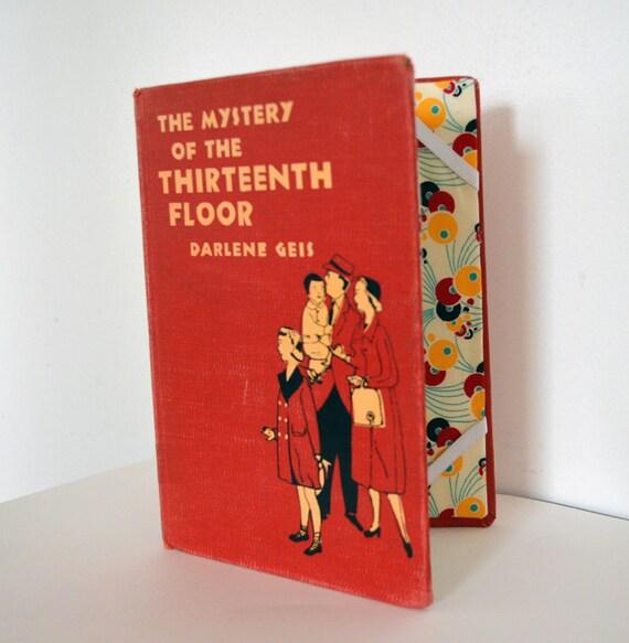 E-Reader Case from Vintage Book - Scarlett