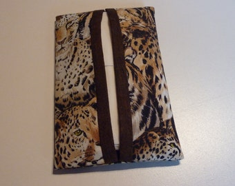 Safari Print Pocket Tissue Holder