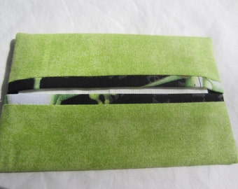 Green Pocket Tissue Holder