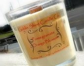 Soy Candle-Pomegranate Orange Blossom Scented