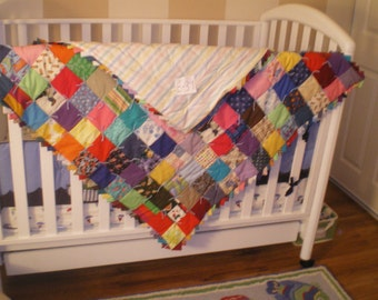 Baby girl or boy quilt-E-39