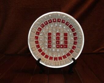 Indiana University-Mosaic decorative plate