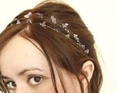 Amethyst headband