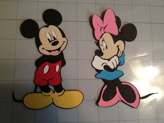 Minnie and Mickey Mouse Pair