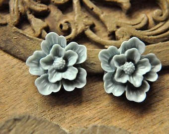 8pcs  resin flower  sakura    Cabochons  pendant finding  RF014