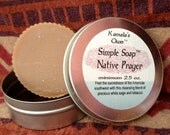 Native Prayer solid soap
