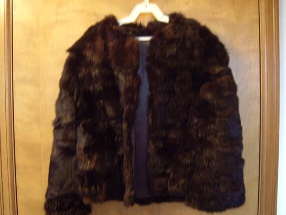 Brown Rabbit Jacket