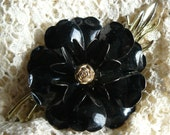 SALE! 50% OFF Coro Vintage Enamel Flower Brooch