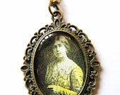 Sylvia Pankhurst Pendant Necklace