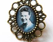 Simone de Beauvoir Brooch