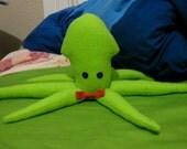 Fleece Plush Squid