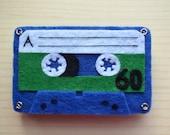 Cassette Tape Brooch