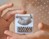 Bridal Typewriter Brooch