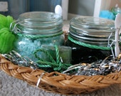 Rosemary Eucalyptus-Mint Bath Set