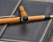 Wood pen and pencil set