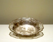 Vintage WMF Ikora Silver Plated Bowl with Tag number