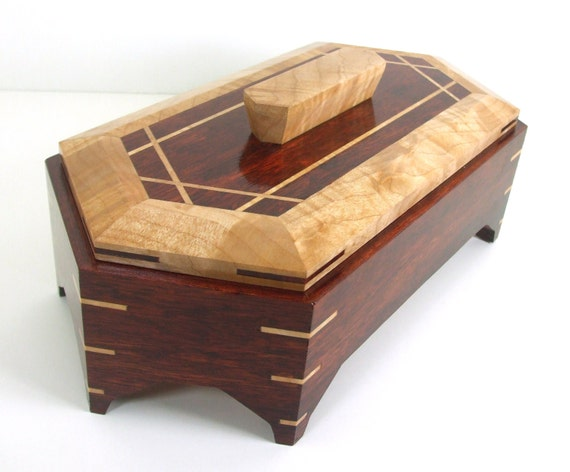 exotic wooden boxes