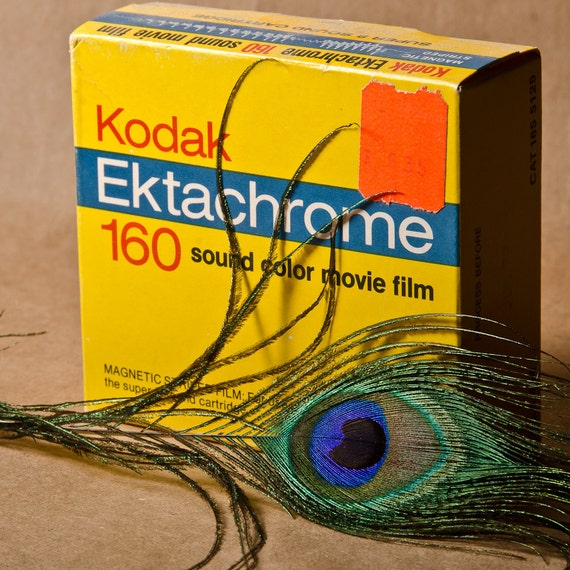 Kodak Ektachrome 160 Sound Color Movie Film July 1977 Unopened Box