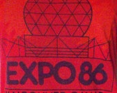 Vintage T-Shirt from 1986 Vancouver, Canada Expo