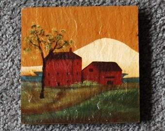 Farm Landscape Hotplate