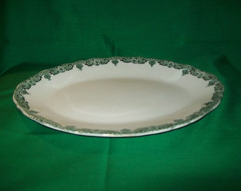 """One )1), 1880's, Bassett, Royal Porcelain, """"TURIN""""  Pattern, Servng Platter."""