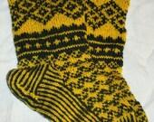 hand knit socks, womens socks wool