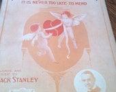 Tho Many A Heart is Broken 1915 sheet music