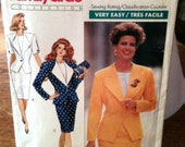 Butterick Pattern 3491 - Women's Skirt Suit